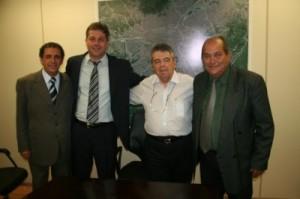 Gilson de Souza, Renato, Mauro Arce e José Antônio