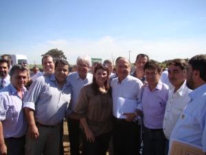Os vereadores do PSDB de Guaíra ao lado do Governador Geraldo Alckmin e do Deputado Roberto Engler