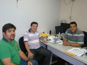 Netinho Nogueira recebeu José Carlos Soares em seu gabinete