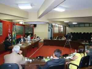 Sessão da Câmara Municipal na próxima terça-feira
