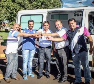Conquista de mais uma ambulância para a cidade de Guaíra
